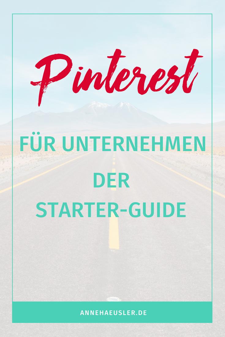 Starte mit deinem Unternehmen bei Pinterest durch. Mit dieser schritt-für-Schritt Anleitung kann dabei nichts schief gehen!