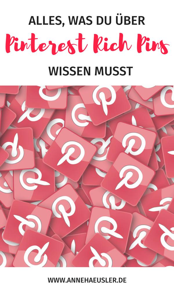 Pinterest Rich Pins einrichten: die 5 Minuten Anleitung für mehr Traffic auf deiner Seite