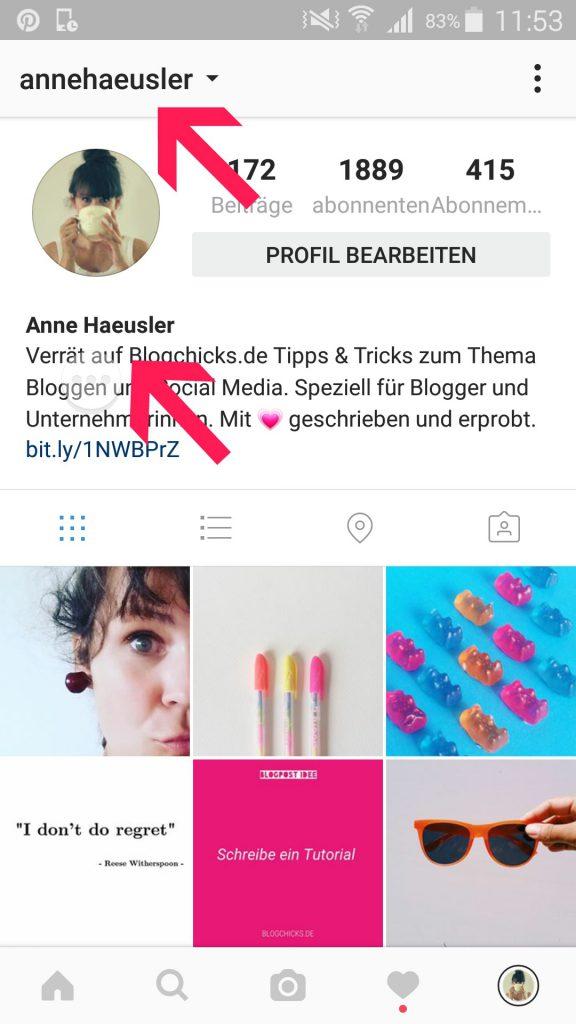 So Erstellst Du Ein Umwerfendes Instagram Profil