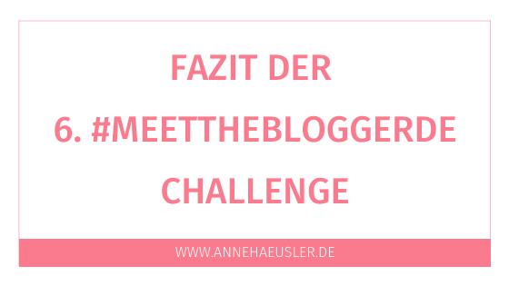 6 Jahre #meetthebloggerde:  Das habe ich gelernt