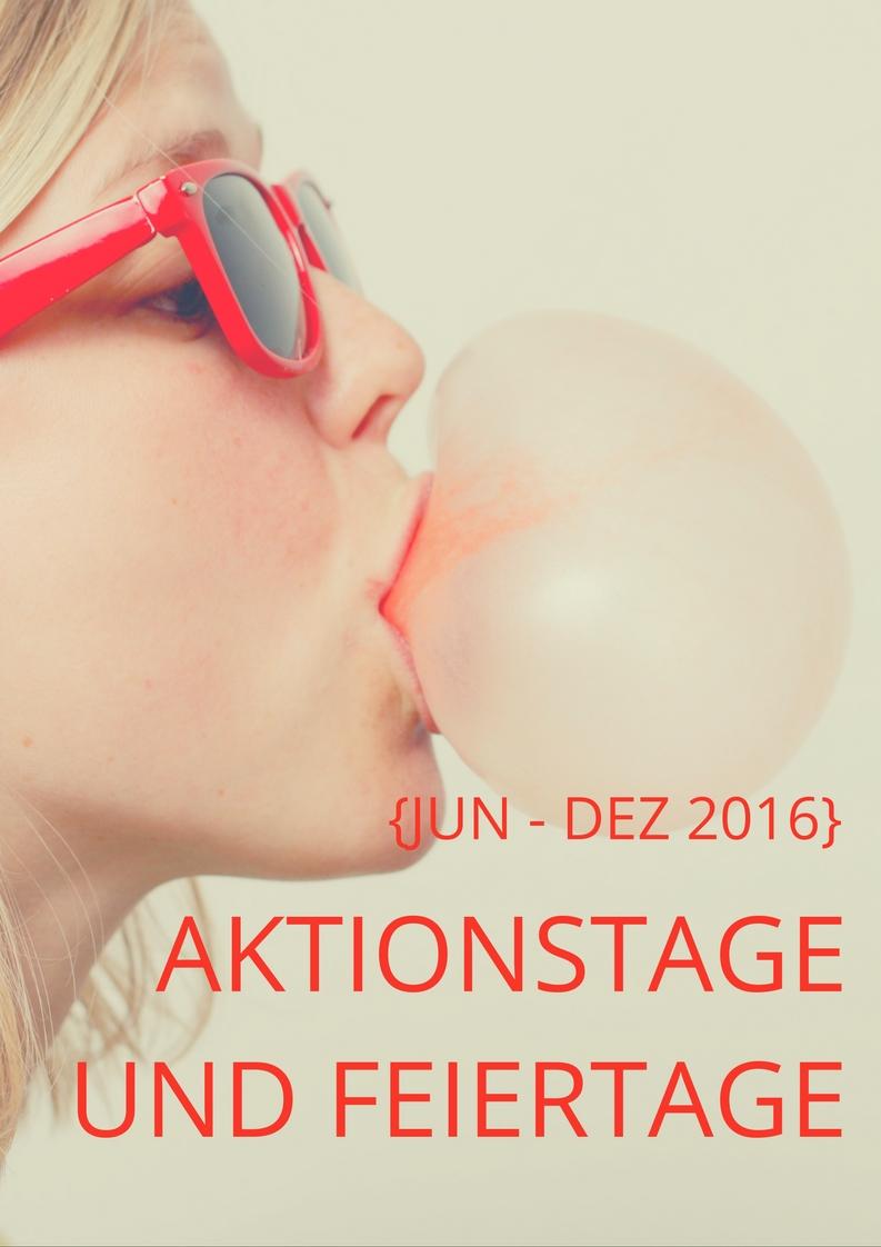 Mehr als 300 Aktionstage und Feiertage zur Inspiration für deinen Blog und deine Social Media Kanäle. Jetzt runterladen unter www.annehaeusler.de