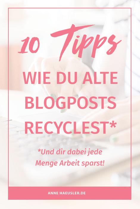 Blog-Oldies sind Goldies...denn sie können noch lange für Traffic auf deinem Blog sorgen. Und so gehts...