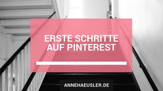 Erste Schritte auf Pinterest