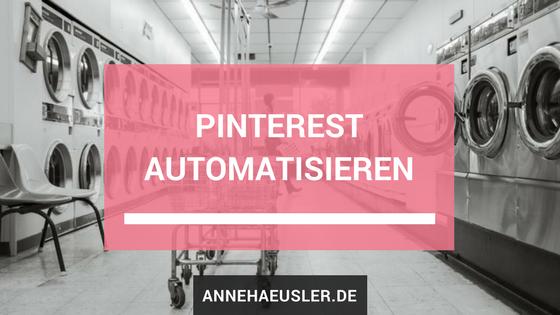 Pinterest automatisieren