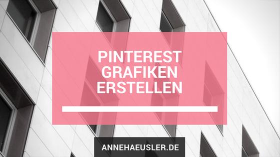 Pinterest Grafiken erstellen