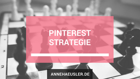 Pinterest Strategie