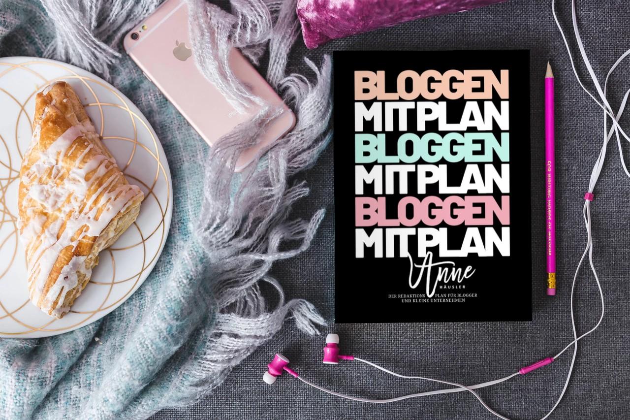 Bloggen mit Plan: bestelle jetzt deinen Blog Planer