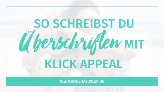 So schreibst du Überschriften mit Klick-Appeal!