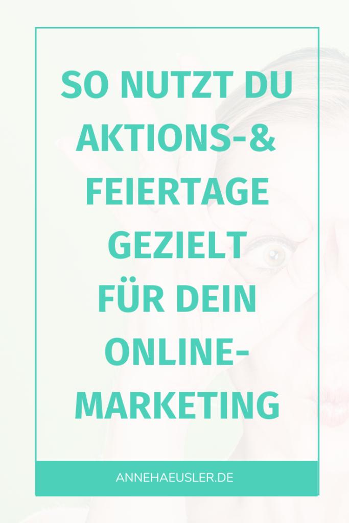 So nutzt du Aktionstage und Feiertage für dein Online-Marketing