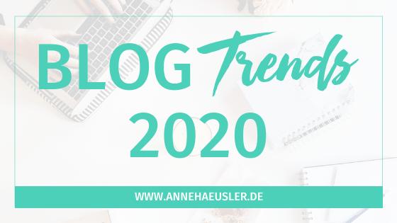 Blog Trends 2020: Das überzeugt deine Leser (und die Suchmaschinen)