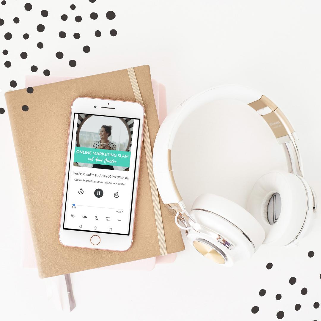 Online Marketing Slam Podcast mit Anne Häusler