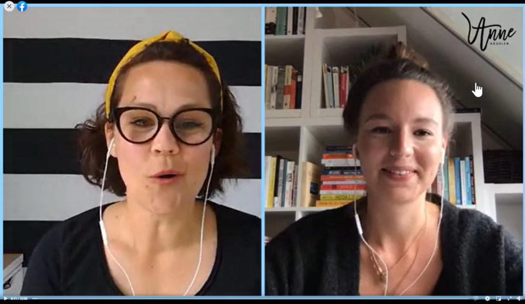 Live-Interview mit Madita Schäkel
